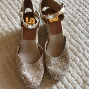 Anthropologie Kanna wedges